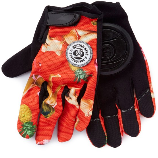 Sector 9 Rush Slide Gloves - Red
