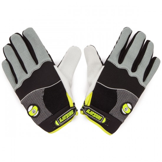 Sector 9 Apex Slide Gloves - Black / Green