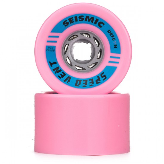 Seismic Speed Vent Longboard Wheels - 85mm