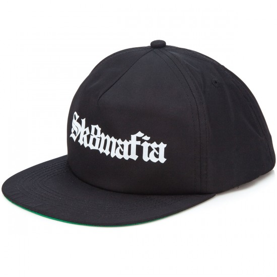 Sk8 Mafia Old E Floppy Snapback Hat - Black