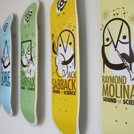 Sk8ology Single Skateboard Deck Display