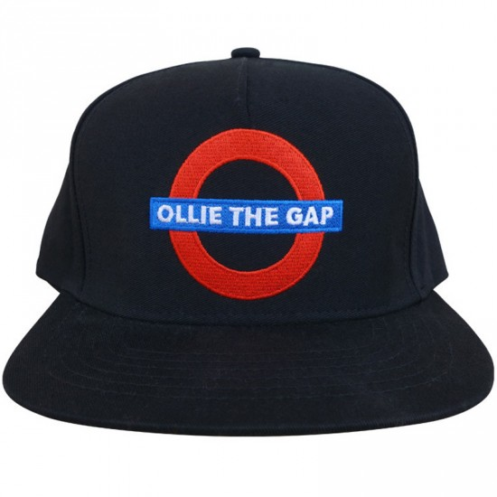 Skate Mental Ollie The Gap Hat - Black