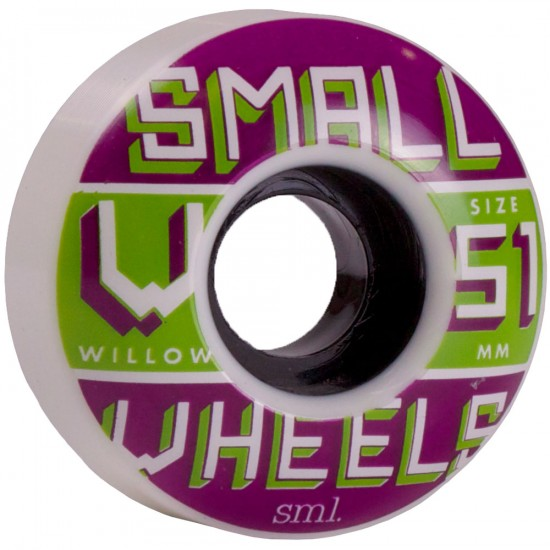 SML Willow Pro Skateboard Wheels 51mm - White