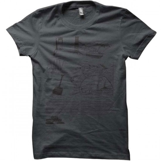 Spacecraft Avalanche T-Shirt - Grey