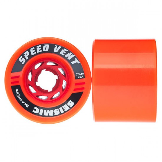 Seismic Speed Vent Longboard Wheels 73mm