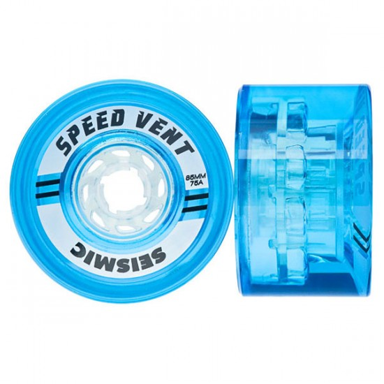 Seismic Speed Vent Longboard Wheels 85mm