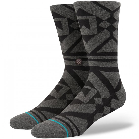 Stance Blackhills Socks - Black