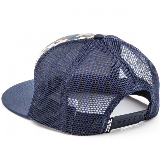 SUPERbrand Fling Trucker Hat - Navy
