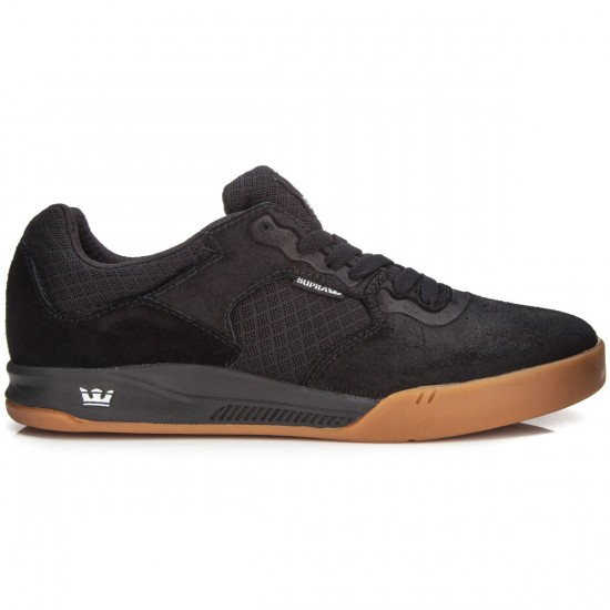 Supra Avex Shoes - Black/Gum - 7.0