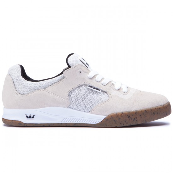 Supra Avex Shoes - White/Gum - 10.0