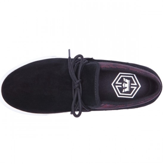Supra Cuba Shoes - Black/Southwest/White - 9.5
