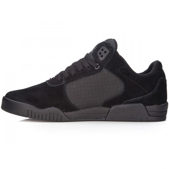 Supra Ellington Shoes - Black/Black/Black - 7.0
