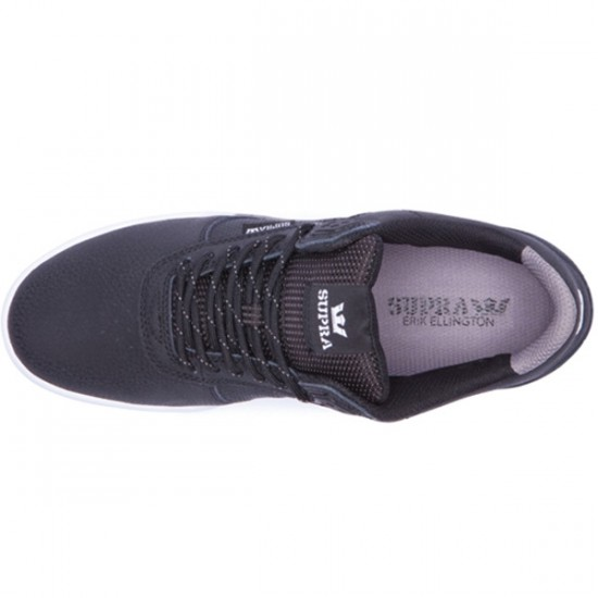Supra Ellington Shoes - Black/Grey/White - 9.0