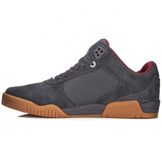 Supra Ellington Shoes - Magnet/Port/Gum - 7.0