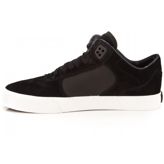 Supra Ellington Vulc Shoes - Black/White - 10.0