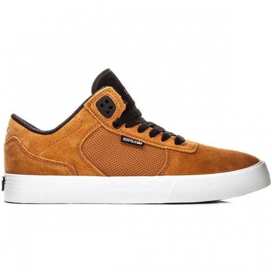 Supra Ellington Vulc Shoes - Cathay Spice/Black/White - 10.0