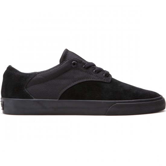 Supra Pistol Shoes - Black/Black - 10.0