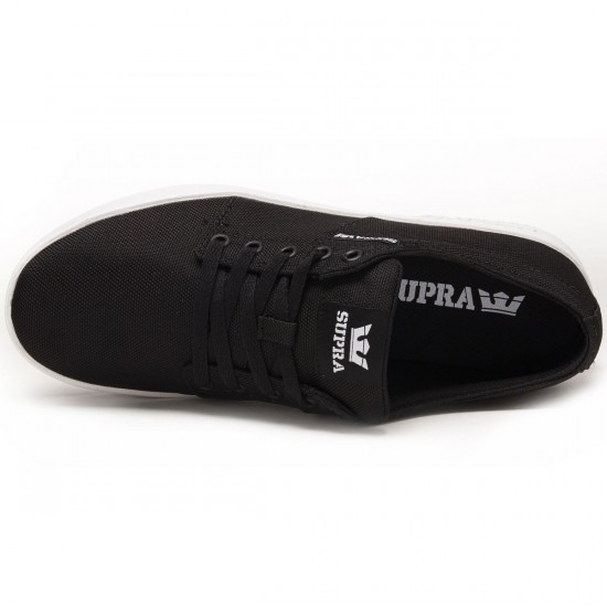 Supra Stacks II Shoes - Black/White - 8.0