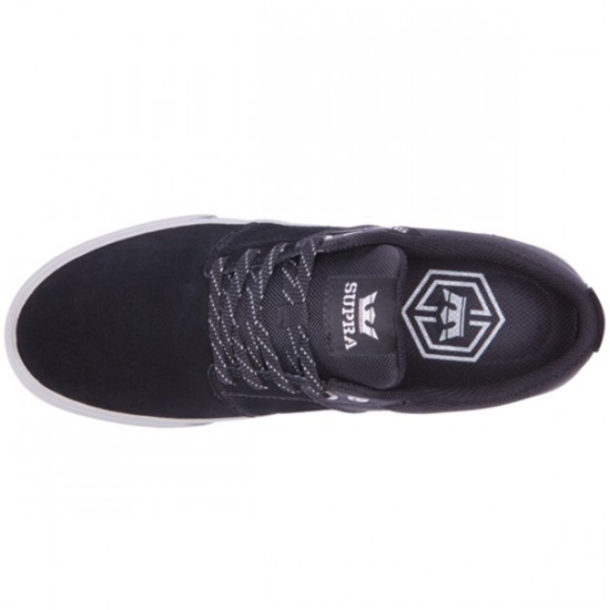 Supra Stacks Vulc II Shoes - Black/Grey/Grey - 9.5