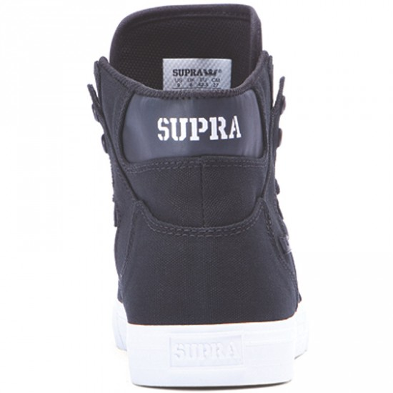 Supra Vaider 2.0 Shoes - Black/White - 6.5