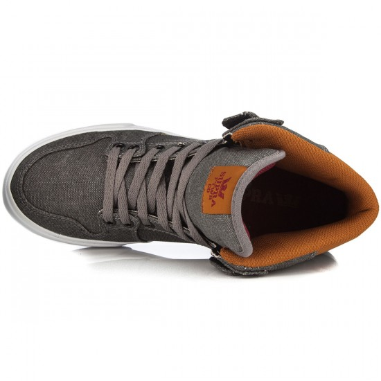 Supra Vaider Shoes - Grey/Cathay Spice/White - 6.0