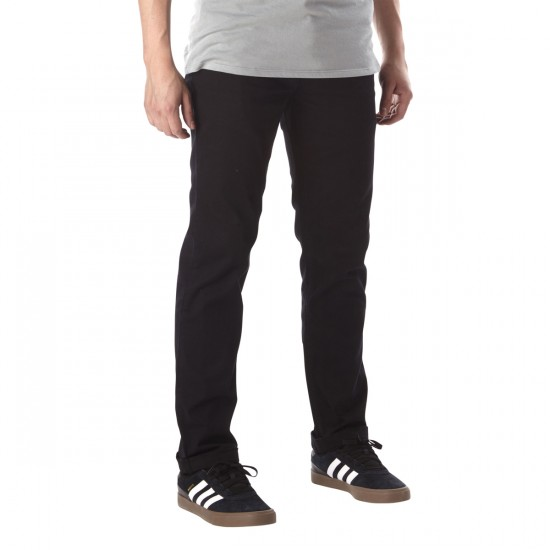 Tavik Basin Pants - Waxed Jet Black - 36 - 32