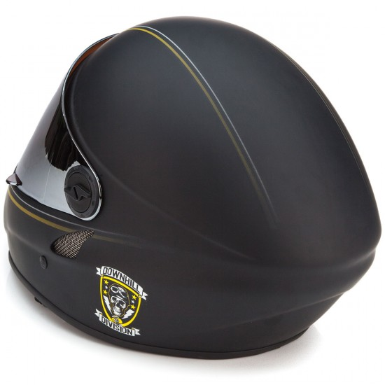 Sector 9 The Cannonball Downhill Division Helmet - Black
