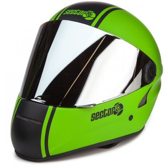 Sector 9 The Channel Downhill Division Helmet - Green