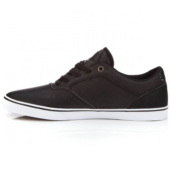 Emerica The Herman G6 Vulc Shoes - Black/White/Gum - 7.0