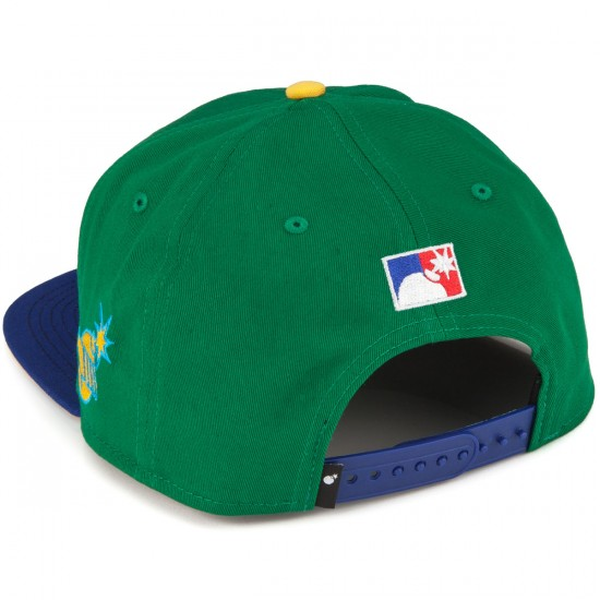 The Hundreds 2015 World Series Team Snapback Hat - Green