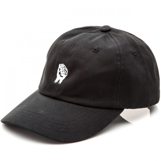 The Hundreds Fist Strapback Hat - Black