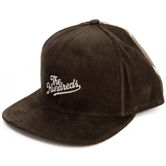The Hundreds Head Case Snapback Hat - Forest Green/Khaki