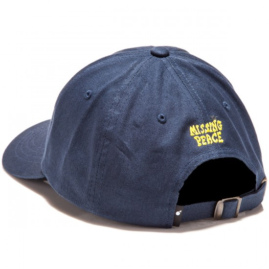 The Hundreds Missing Strapback Hat - Navy