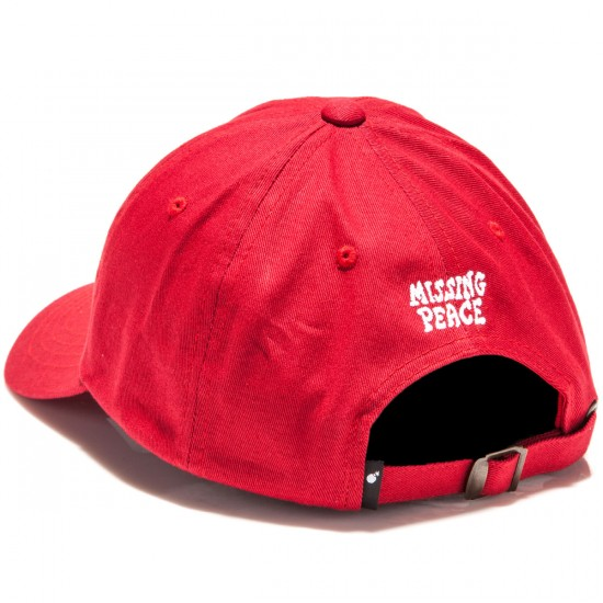 The Hundreds Missing Strapback Hat - Red