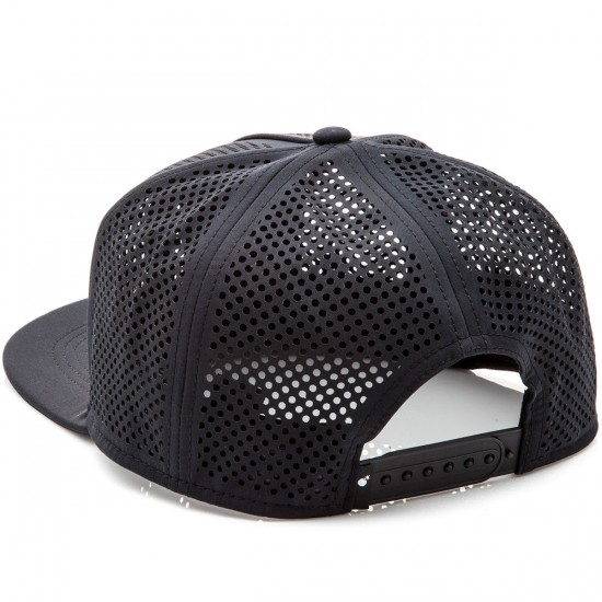 The Hundreds Pine Snapback Hat - Black