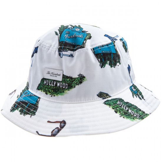 The Hundreds SC Bucket Hat - White