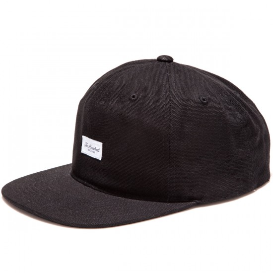 The Hundreds Script Snapback Hat - Black