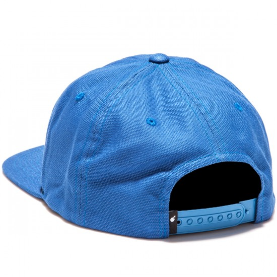 The Hundreds Script Snapback Hat - Blue