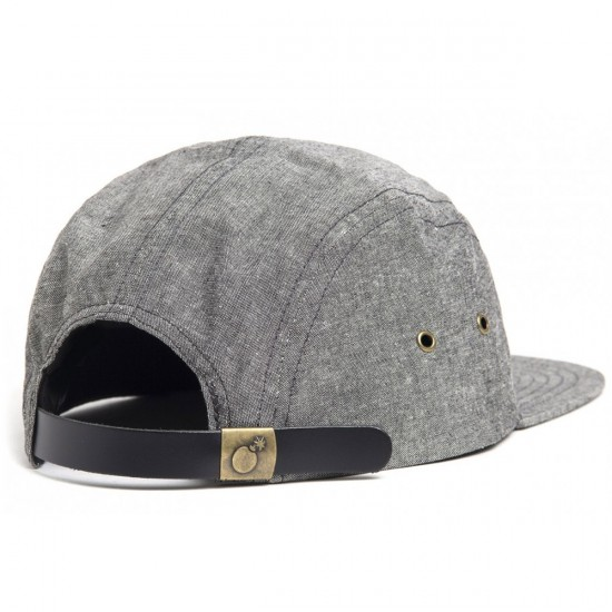 The Hundreds Slant 5-Panel Hat - Black