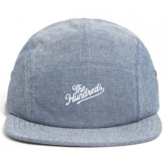 The Hundreds Slant 5-Panel Hat - Blue