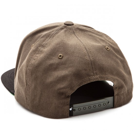 The Hundreds Team Snapback Hat - Olive