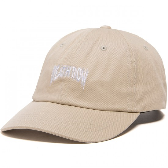 The Hundreds X Death Row Dad Hat - Khaki