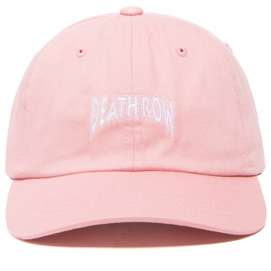The Hundreds X Death Row Dad Hat - Pink