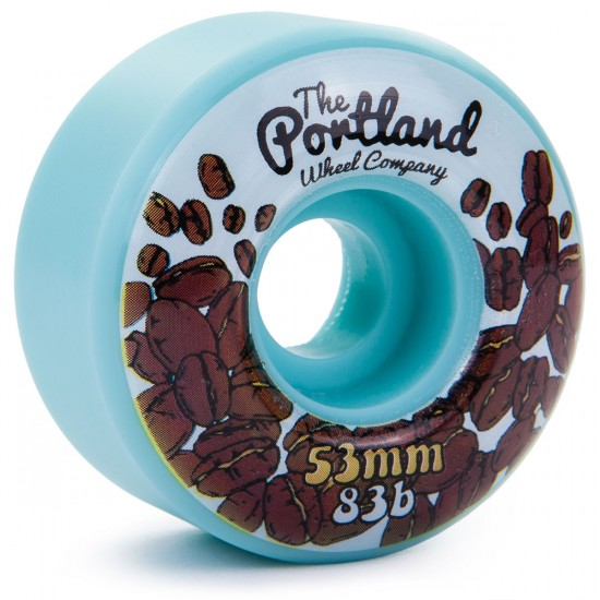 The Portland Wheel Co. The Roasters Skateboard Wheels 53mm 83b