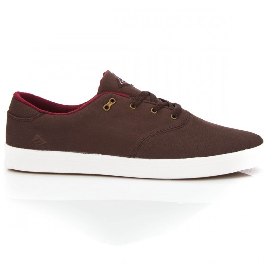 Emerica The Reynolds Cruiser LT Shoes - Brown/White - 8.0