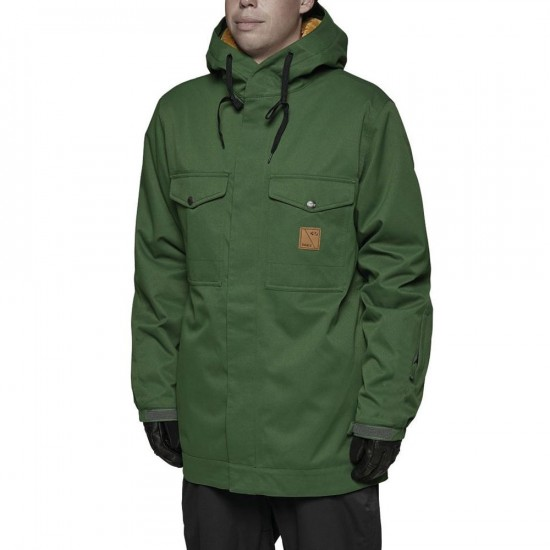 Thirty Two Bronson Snowboard Jacket - Forest