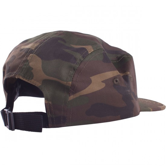 Thrasher 5 Panel Cap - Camo