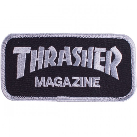 Thrasher Logo Patch - Black