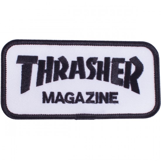 Thrasher Logo Patch - White