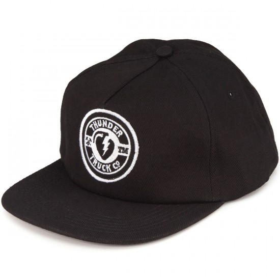 Thunder Mainline Snapback Hat - Black
